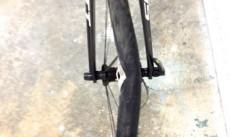 Broken bike wheel